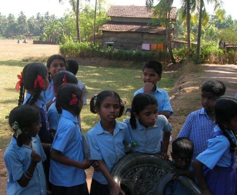 School children in India - photo credit Binayak Das